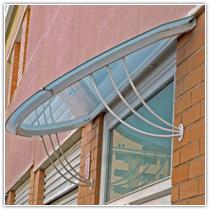 Cerramientos metalicos rejas vallas verjas puertas seguridad forja a medida patios trastero - Tejadillo para puerta ...
